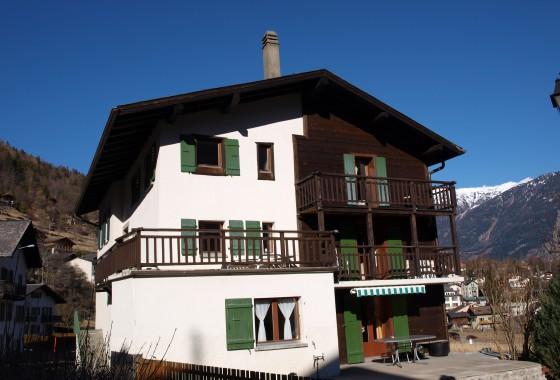 Salvan (ouest du village)